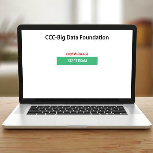 CCC-Big Data Foundation - Exam (CCC) - Exam product photo Front View EL
