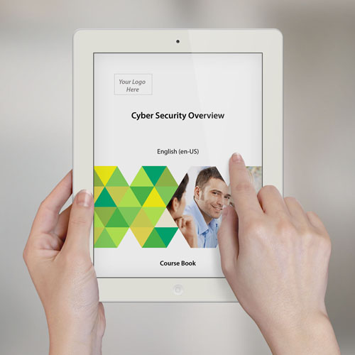 Cyber Security Overview - Course Book product photo Front View EL