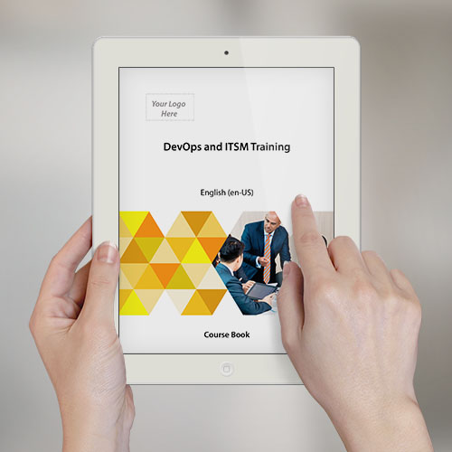 DevOps and ITSM Training - Course Book product photo Front View EL
