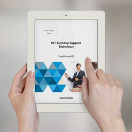 HDI Desktop Support Technician - Course Book product photo