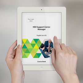 HDI Support Center Manager - Course Book product photo
