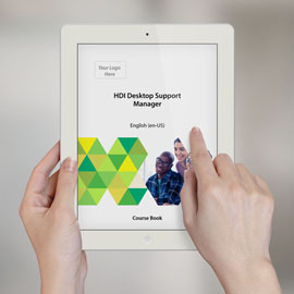HDI Desktop Support Manager - Course Book product photo