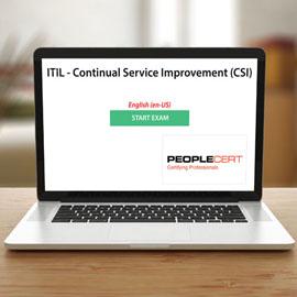Peoplecert ITIL - Continual Service Improvement (CSI) - Exam product photo