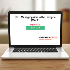 Peoplecert ITIL - Managing Across the Lifecycle (MALC) - Exam product photo
