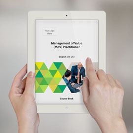 Management of Value (MoV) Practitioner - Course Book product photo