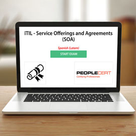 Peoplecert ITIL - Service Offerings and Agreements (SOA) - Exam product photo