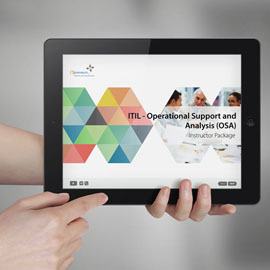ITIL v3 Operational Support and Analysis (OSA) - ITpreneurs Pro - Instructor Package product photo