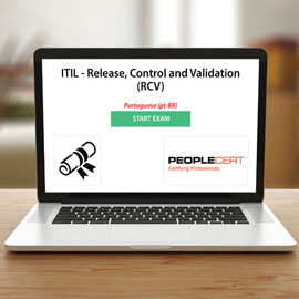 Peoplecert ITIL - Release, Control and Validation (RCV) - Exam product photo