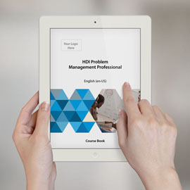 HDI Problem Management Professional - Course Book product photo