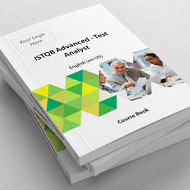 ISTQB Advanced - Test Analyst - Course Book product photo