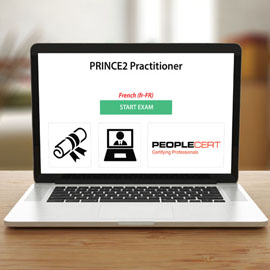 PRINCE2 Practitioner - Exam (reregistration) - Exam product photo