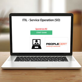 Peoplecert ITIL - Service Operation (SO) - Exam product photo