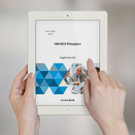 HDI KCS Principles - Course Book product photo