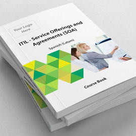 ITIL v3 Service Offerings and Agreements (SOA) - ITpreneurs Pro - Blended - Course Book product photo