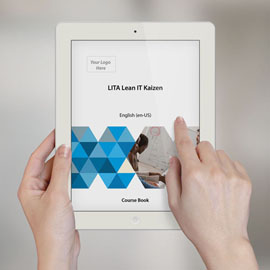 LITA Lean IT Kaizen - Course Book product photo