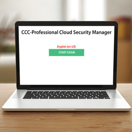 CCC-Professional Cloud Security Manager - Exam (CCC) - Exam product photo
