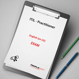 Peoplecert ITIL - Practitioner - Exam product photo
