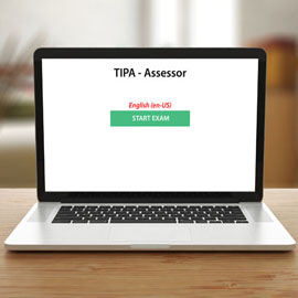 TIPA Assessor -  - Exam product photo