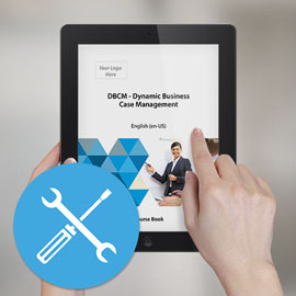 DBCM - Dynamic Business Case Management - Course Book (Customizable) - Course Book product photo