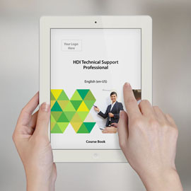 HDI Technical Support Professional - Course Book product photo