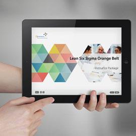 Lean Six Sigma Orange Belt - Instructor Package product photo
