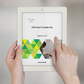 LITA Lean IT Leadership - Course Book product photo