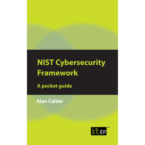 NIST Cybersecurity Framework - A Pocket Guide product photo Front View EL