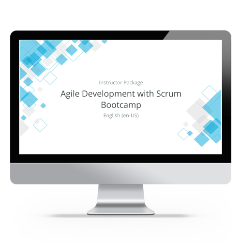 Agile Development with Scrum Bootcamp - Instructor Package product photo Front View EL