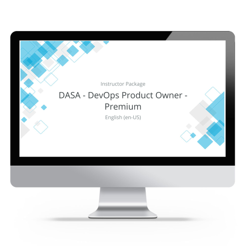 DASA - DevOps Product Owner - Premium - Instructor Package product photo Front View EL