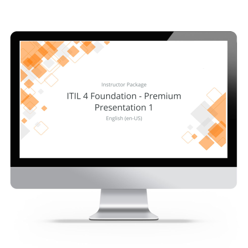 ITIL 4 Foundation - ITpreneurs Premium - Instructor Package product photo Front View EL