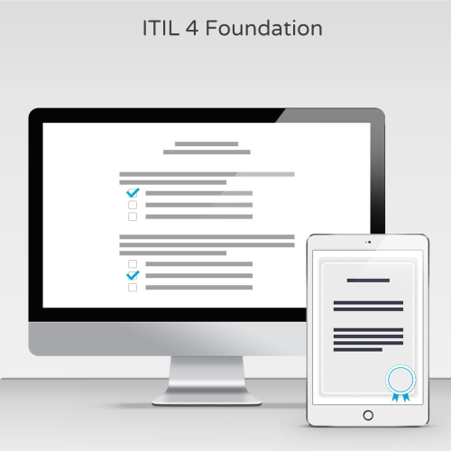 ITIL 4 Foundation - Exam product photo Front View EL
