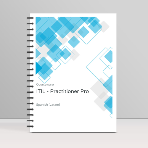 ITIL v3 Practitioner - ITpreneurs Pro - Course Book product photo Front View EL