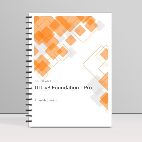 ITIL v3 Foundation - ITpreneurs Pro - Course Book product photo Front View EL