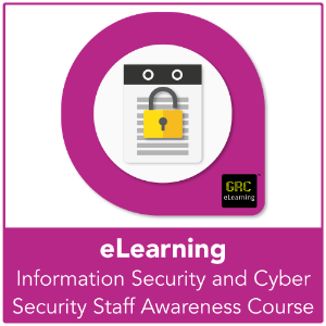 Information Security and Cyber Security Staff Awareness - eLearning Course product photo
