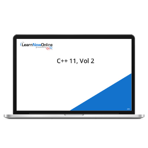 C++ 11, Vol 2 - eLearning Course product photo