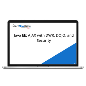 Java EE: AJAX with DWR, DOJO, and Security - eLearning Course product photo
