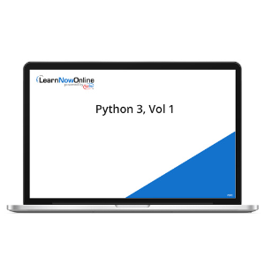 Python 3, Vol 1 - eLearning Course product photo