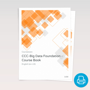 CCC-Big Data Foundation - Course Book product photo