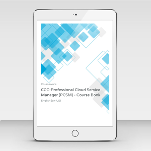 CCC-Professional Cloud Service Manager (PCSM) - Course Book product photo