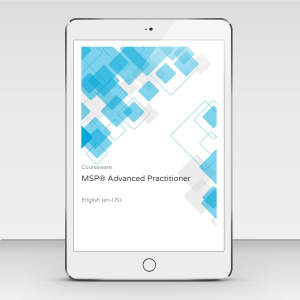 MSP Advanced Practitioner - Course Book product photo