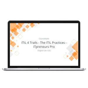 ITIL 4 Trails - The ITIL Practices - ITpreneurs Pro - eLearning Course product photo