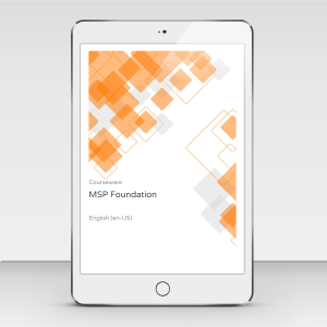 MSP Foundation - Course Book product photo