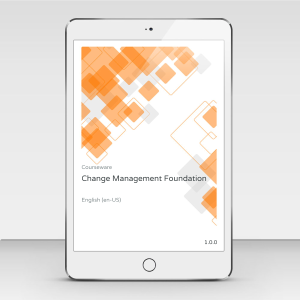 Change Management Foundation - Course Book product photo