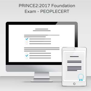 PRINCE2:2017 Foundation  - PEOPLECERT - Exam product photo