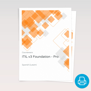 ITIL v3 Foundation - ITpreneurs Pro - Course Book product photo