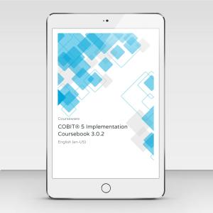 COBIT 5 Implementation - Course Book product photo