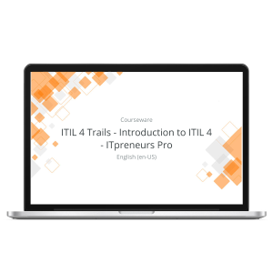ITIL 4 Trails - Introduction to ITIL 4 - ITpreneurs Pro - eLearning Course product photo