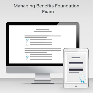 Managing Benefits Foundation - Exam product photo