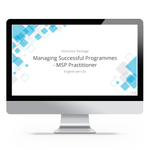 Managing Successful Programmes - MSP Practitioner - Instructor Package product photo