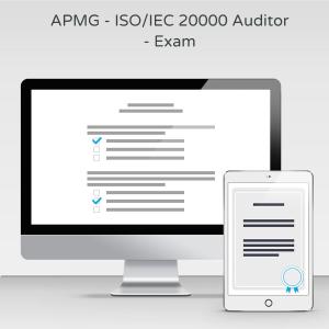 APMG - ISO/IEC 20000 Auditor - Exam product photo